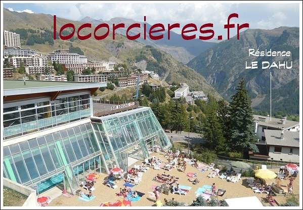 Location studio orci res merlette 1850 for Orcieres piscine
