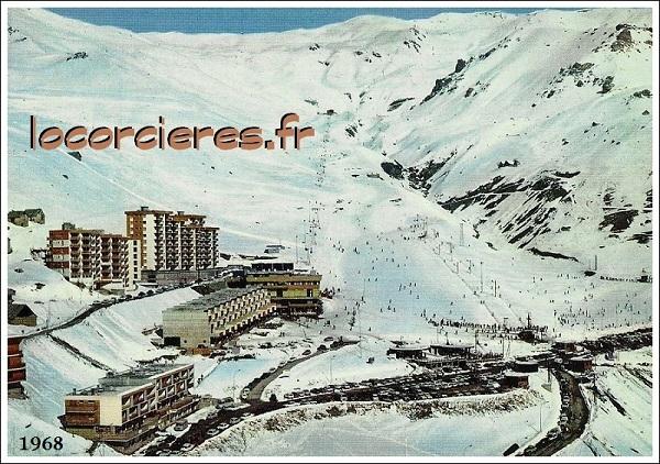 Vue orcieres merlette 1968