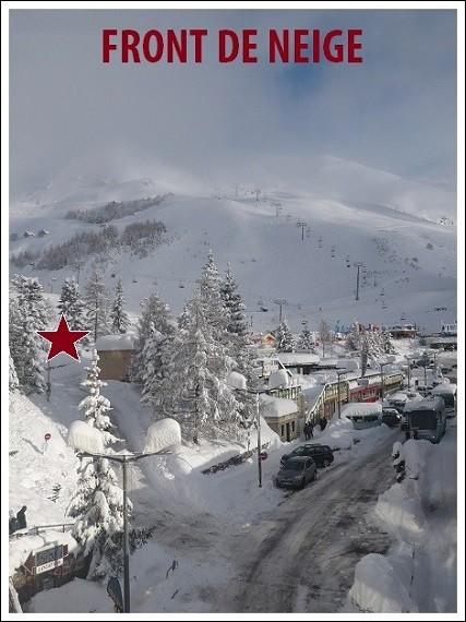 Front de neige Orcieres Merlette