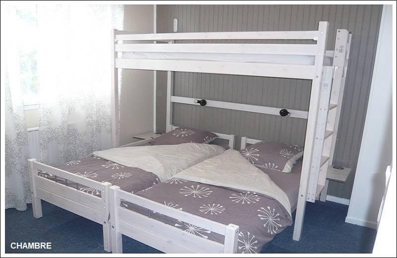 Locorcieres chambre 3 couchages