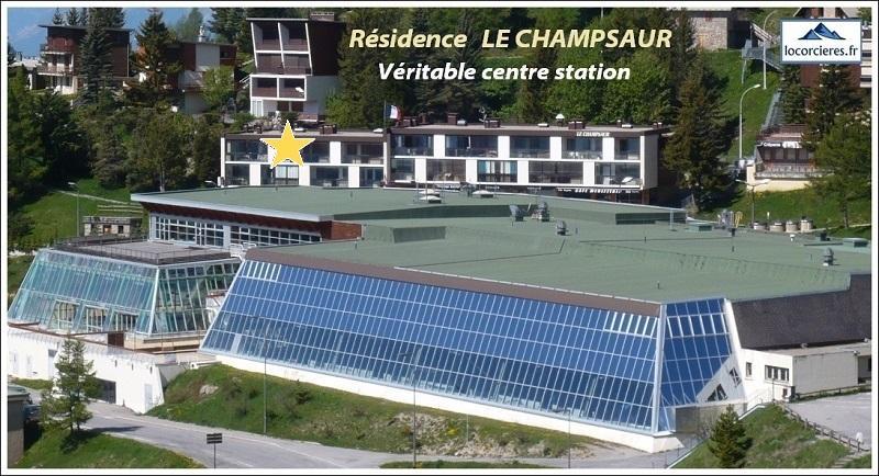 Immeuble Le Champsaur appartement de vacances ORCIERES