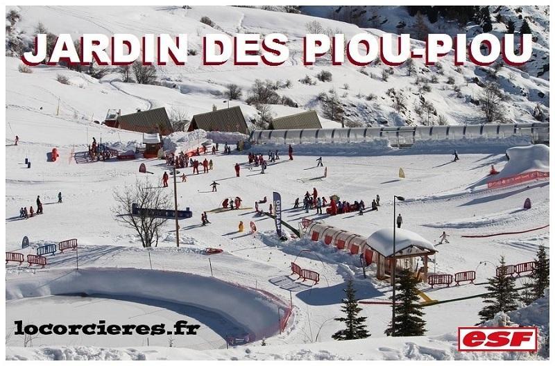 Jardin des piou piou a orcieres
