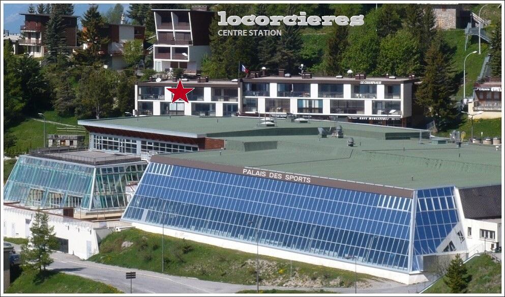 location Orcières Merlette centre station