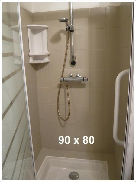 Locorcieres salle de bains grande douche