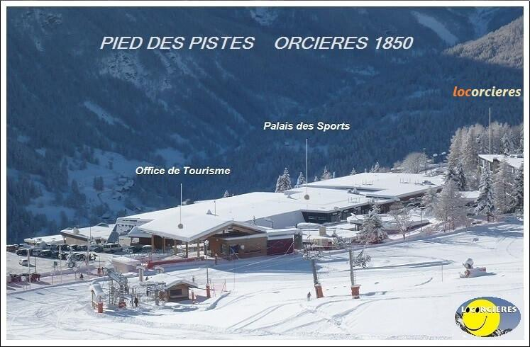 Pied des pistes orcieres 1850 1