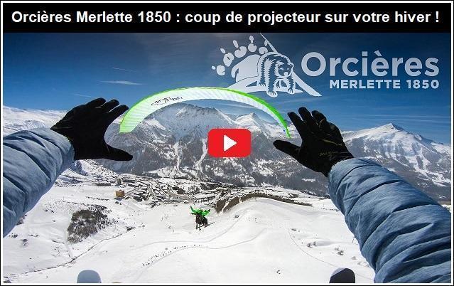 Vacances saisonnière ski et détente à Orcières (vidéo)
